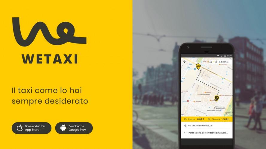 App Wetaxi a Torino, in aeroporto col taxi condiviso a metà prezzo