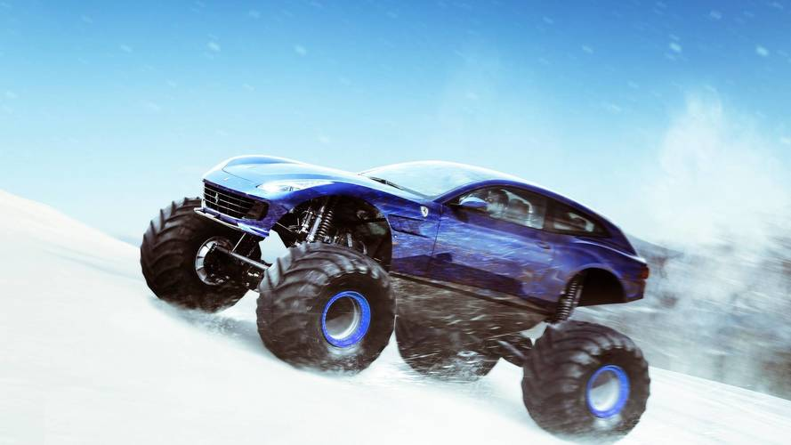 5 süper otomobilin kış versiyonu