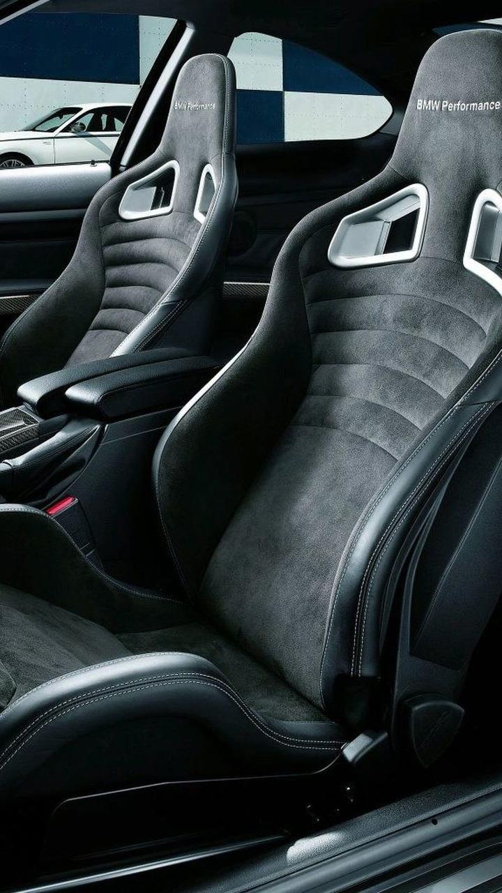 BMW Performance sport seats