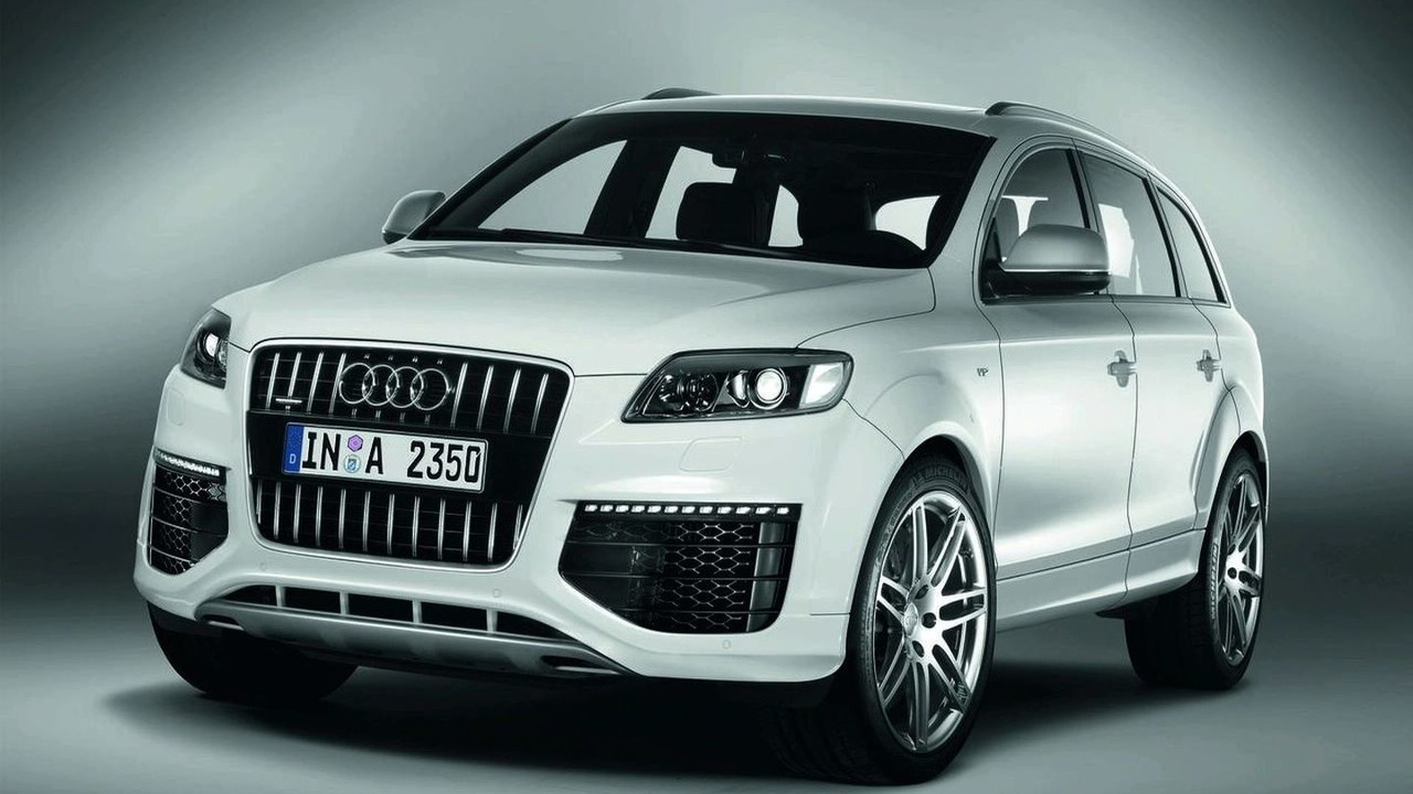 Audi Q7 V12 TDI in production