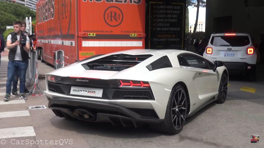 VIDÉO – La Lamborghini Aventador S (déjà) à Monaco