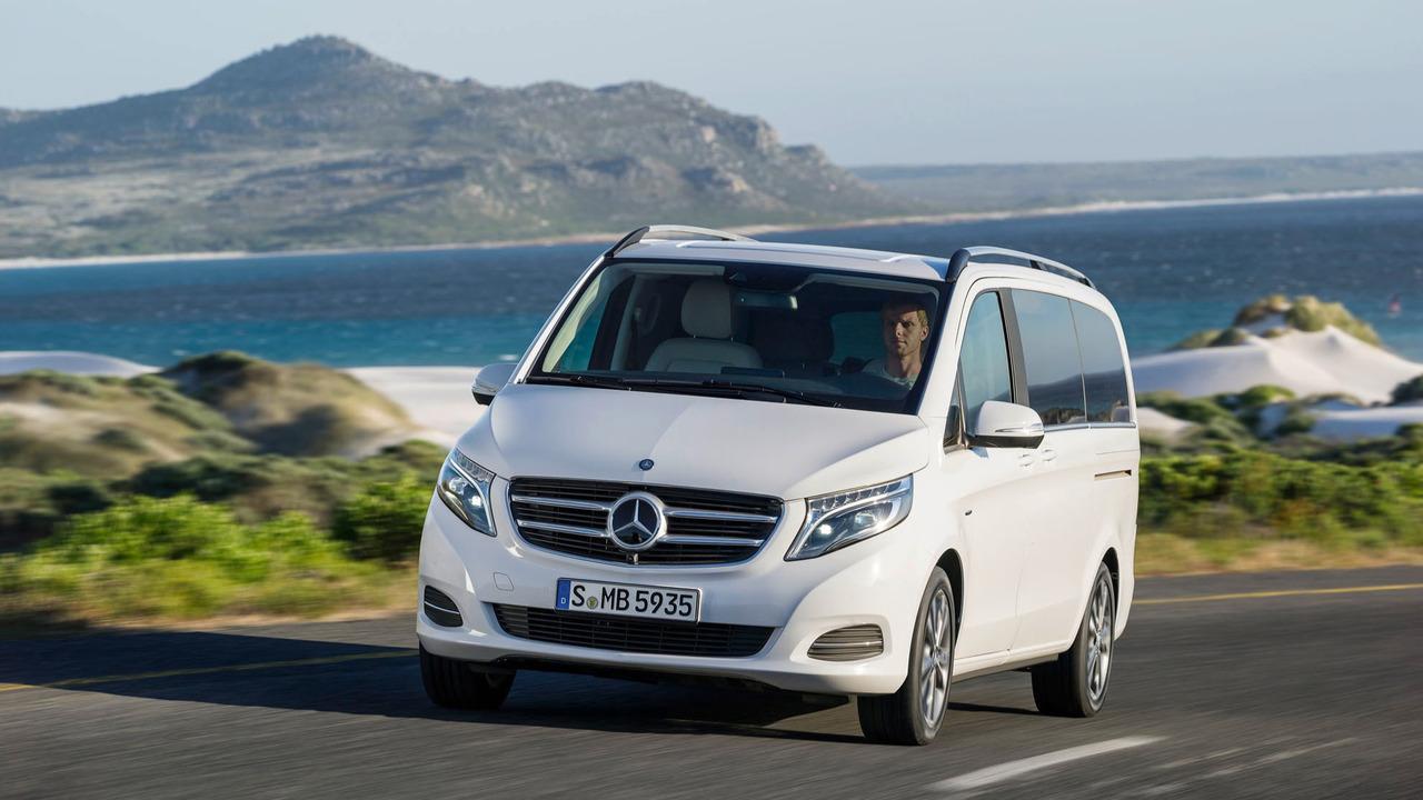 mercedes builds 100k v class minivans adds production in. Black Bedroom Furniture Sets. Home Design Ideas