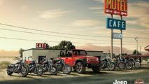 Colaboración entre Harley-Davidson y Jeep