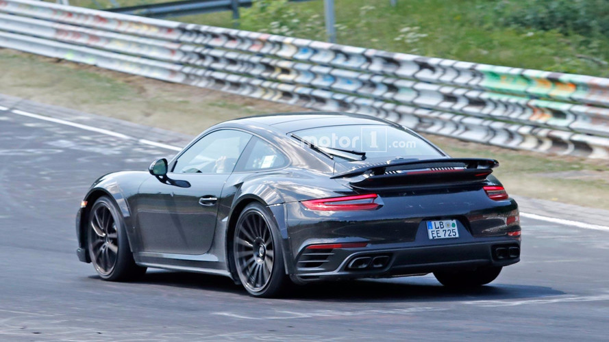 Next-Gen Porsche 911 Turbo '992' Spied