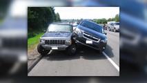 Subaru Jeep Road Rage