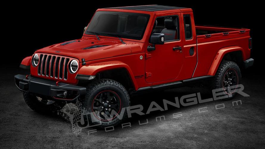 Jeep Wrangler Pickup Could Be Called Scrambler