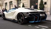 Lamborghini Centenario on the streets
