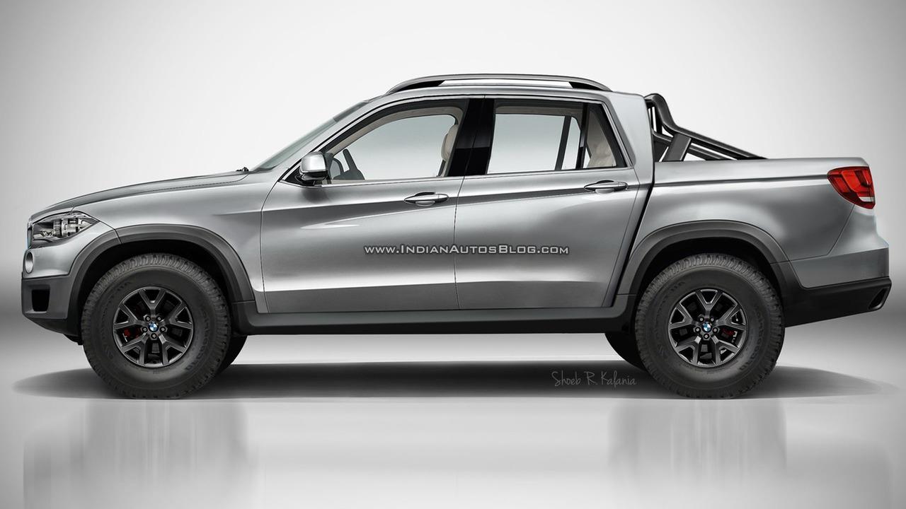 BMW pickup truck render