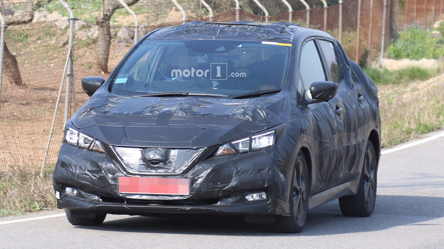 Nissan Leaf 2018: fotos espía