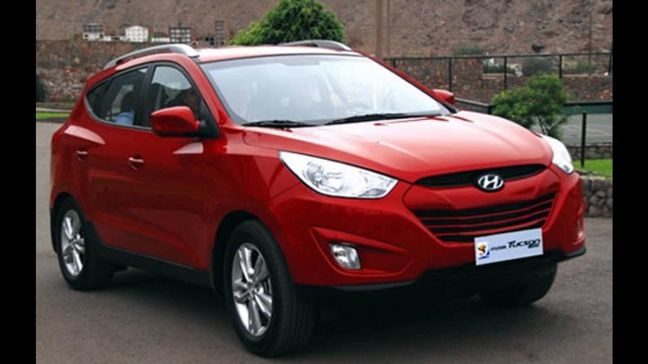 Hyundai começa a vender o Novo Tucson em março no Peru por R$ 40 mil