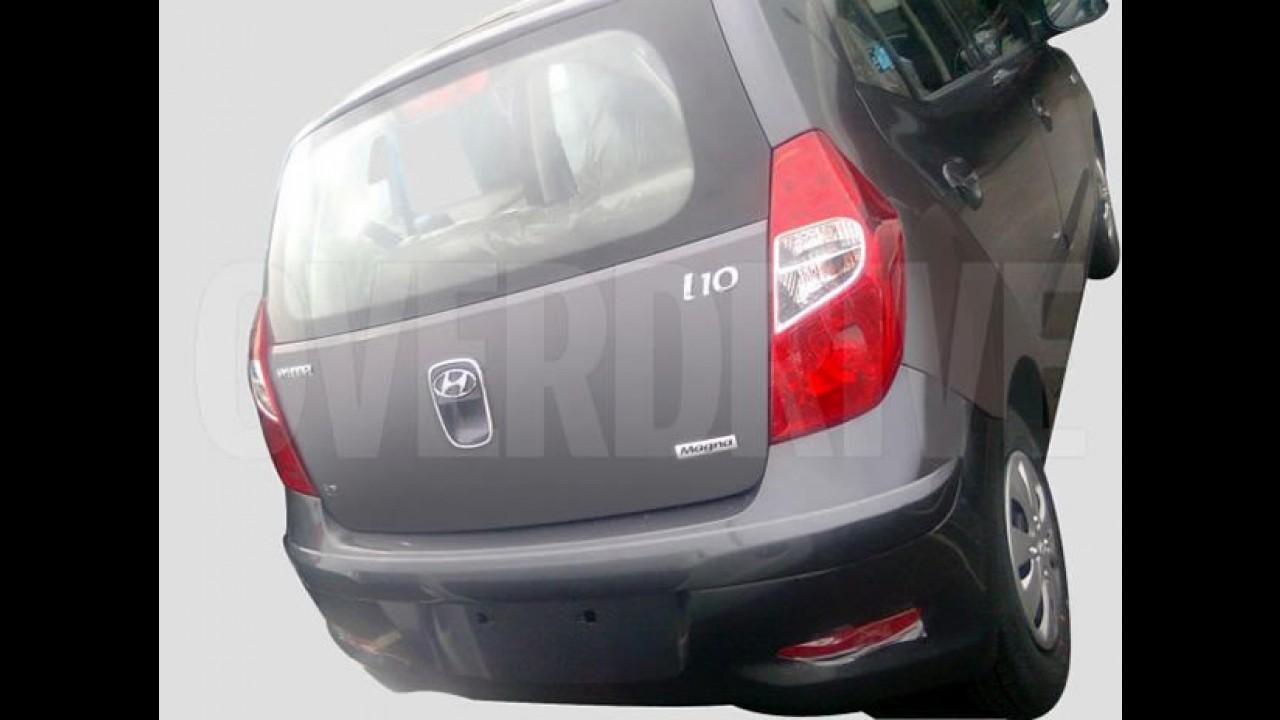 Hyundai i10 2011 - Flagra mostra nova dianteira, traseira e interior