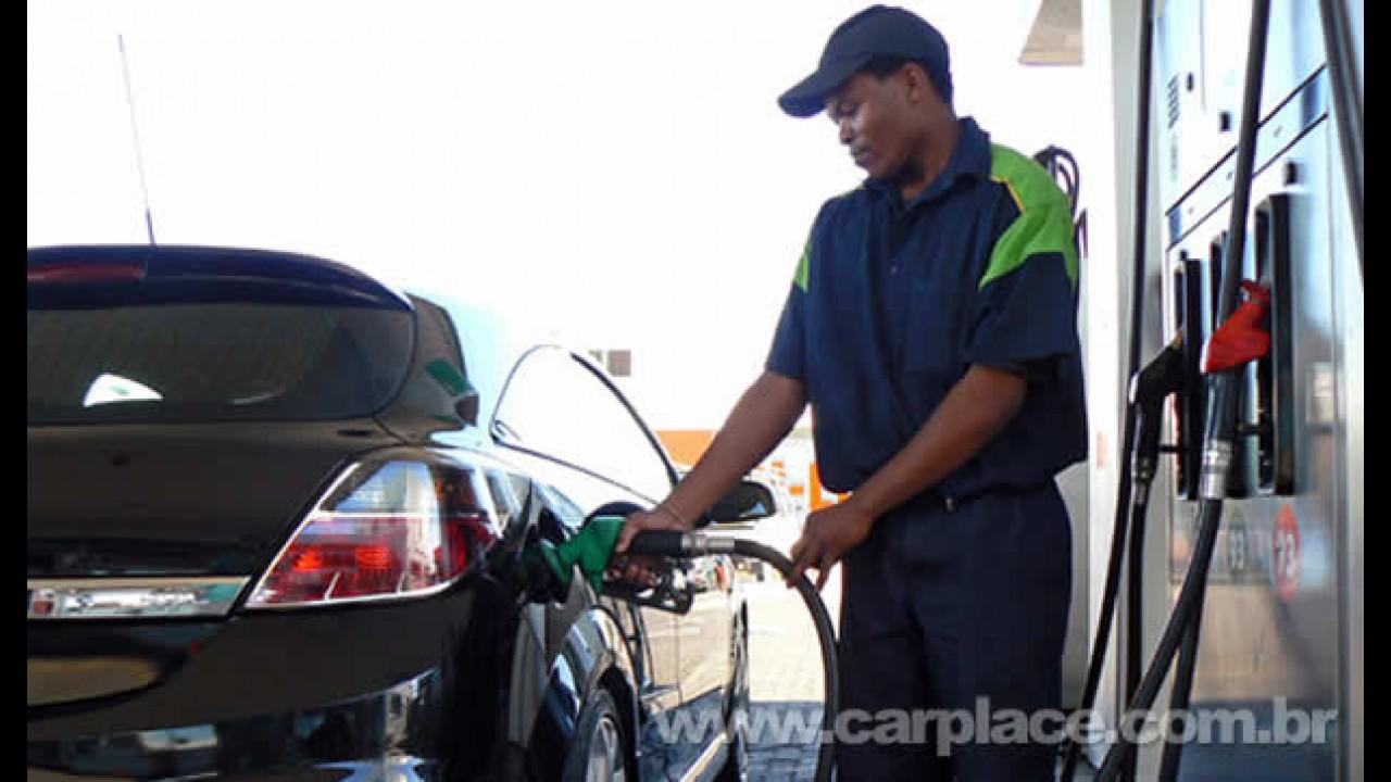 Aumento do preço da gasolina é descartado pelo governo