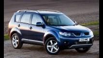 Mitsubishi convoca Outlander no Brasil para reparar falha na luz de freio