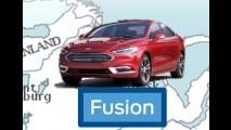 Vazou! Novo Fusion 2017 aparece durante apresentação interna