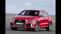 Prestes a se tornar brasileiro, Audi Q3 ganha tapa no visual; RS Q3 vai a 340 cv