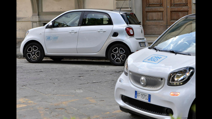 Car sharing boom, oltre 6 milioni di noleggi nel 2016
