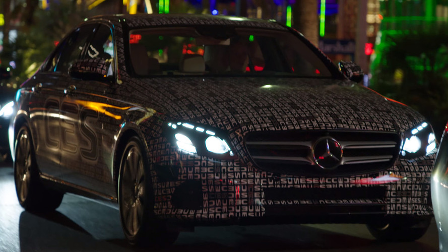 2016 Mercedes E Class teased one last time [video]