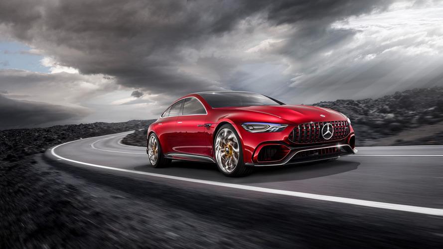 La Mercedes-AMG GT quatre portes sera présentée à Détroit