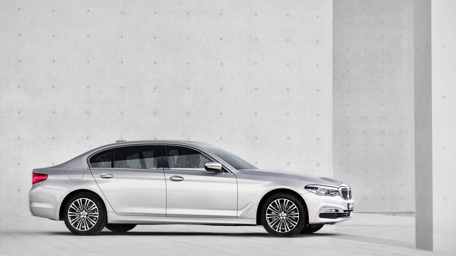 Çin'e özel BMW 5 Serisi LWB ekstra diz mesafesiyle geldi
