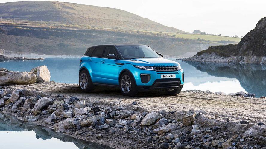 JLR's Range Rover Evoque Landmark Special Edition celebrates SUV's sixth anniversary