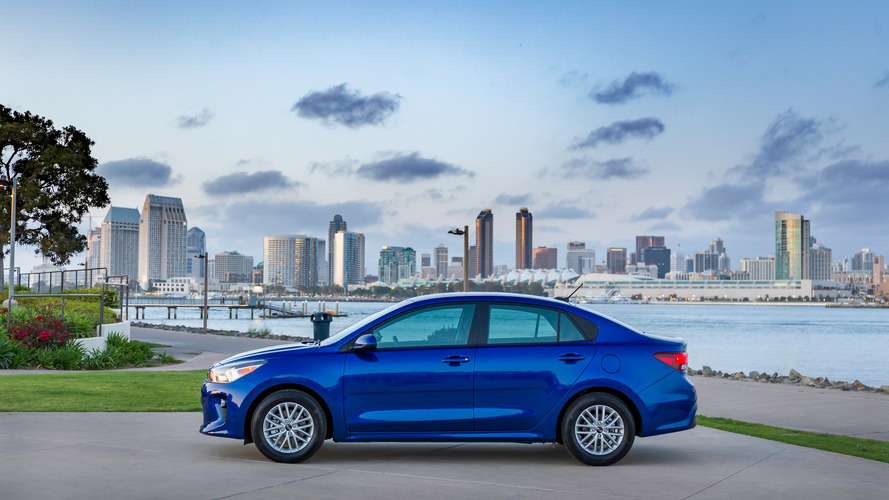 Kia Rio Gets U.S. Unveil
