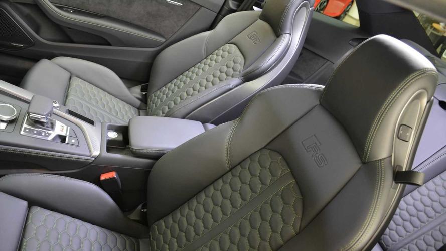 Sonomagrün Metalik renkli Audi RS5