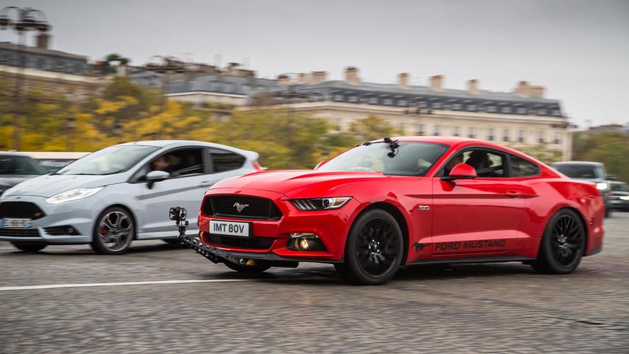Ford Mustang, Paris'teki kovalamacayı yeniden canlandırdı