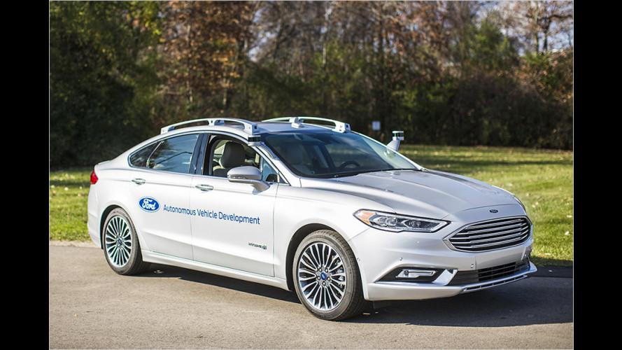 Ford will ab 2021 autonome Autos bauen