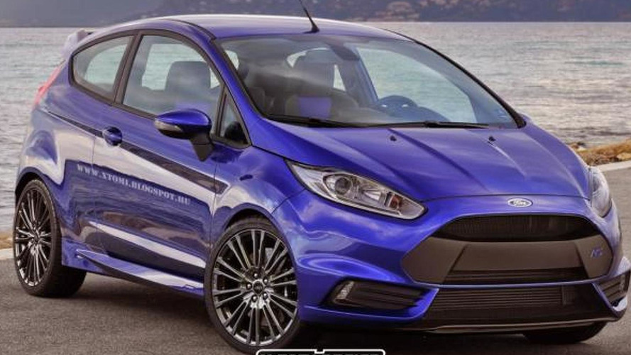 Ford Fiesta RS speculatively rendered