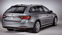 Skoda Superb Scout render