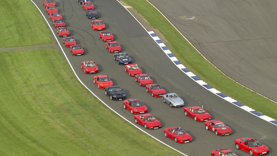 Ferrari attempting to set world record for largest Ferrari parade