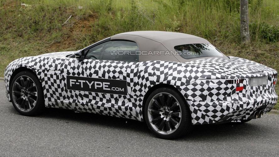 2014 Jaguar F-Type spied