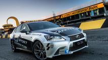 Lexus GS 350 F Sport safety car revealed in Australia