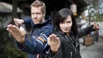 Sebastian Vettel, Celina Jade, Shanghai movie set, 1000, 12.04.2012