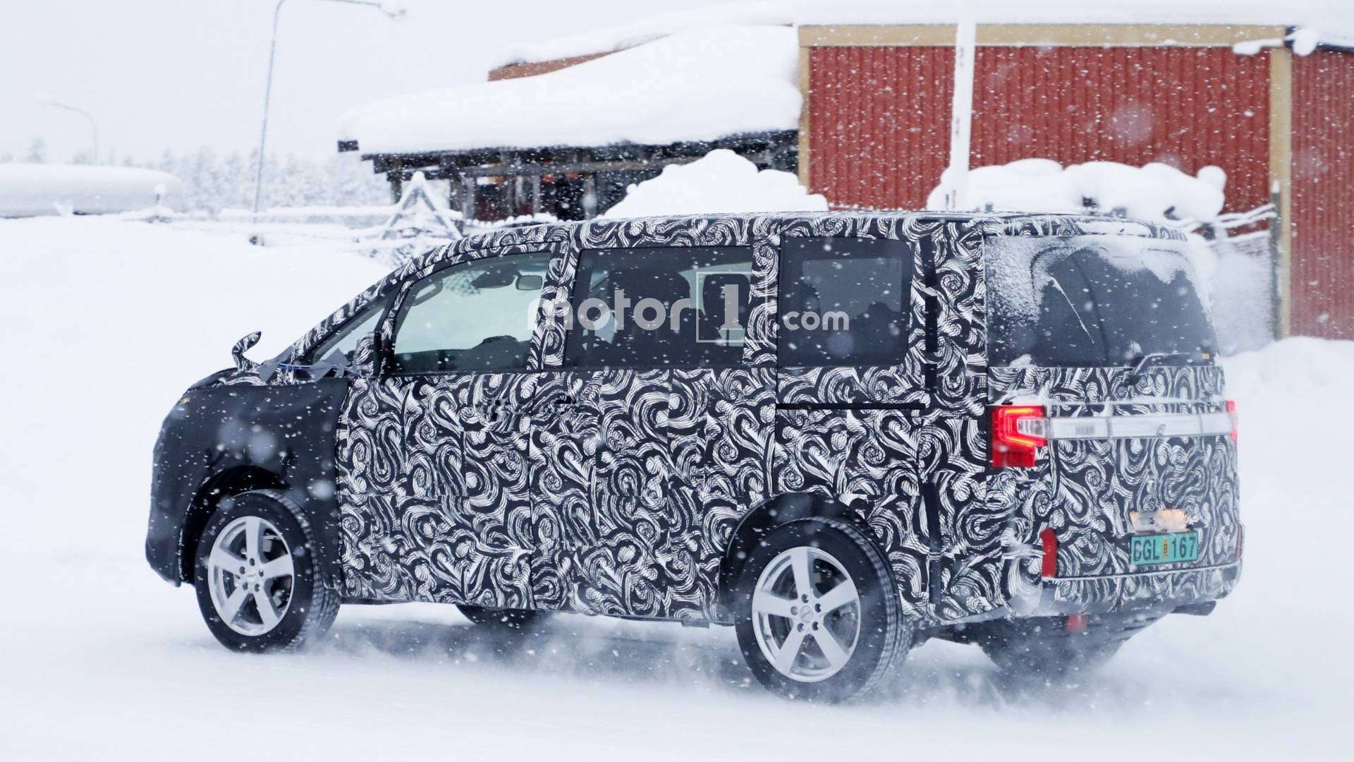All New Mitsubishi Delica Is Not Your Typical Spy Photo Subject