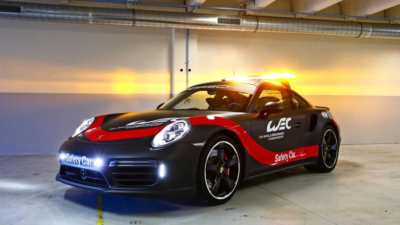 Porsche 911 Safety Car Unveiled For World Endurance