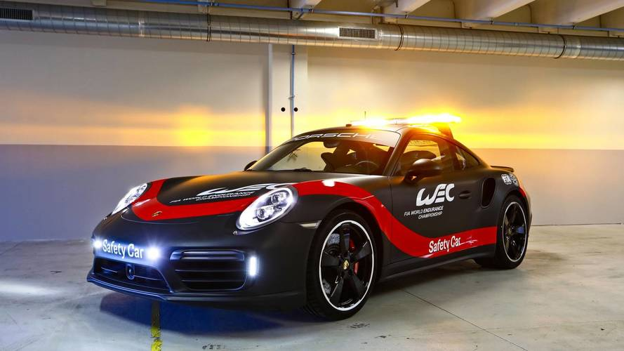 Porsche 911 safety car unveiled for World Endurance Championship
