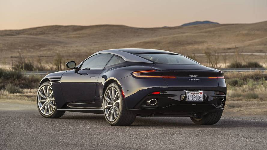 aston martin db11 v8 first drive fewer cylinders more fun. Black Bedroom Furniture Sets. Home Design Ideas