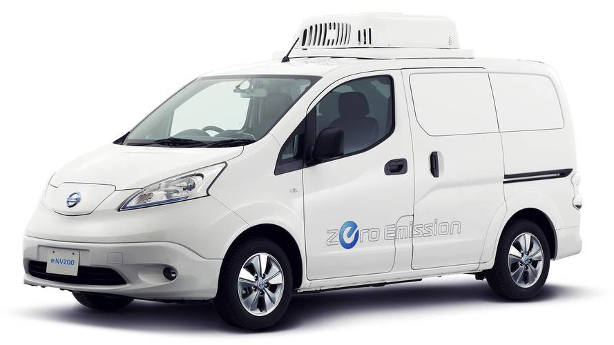 Nissan Imagines New Ambulance, Electric Delivery Van in Tokyo