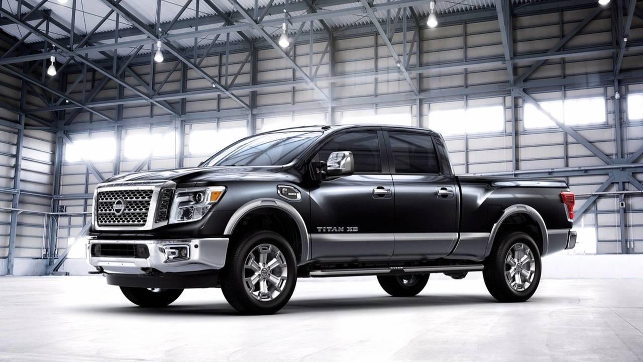 3. Nissan Titan XD Diesel Platinum Reserve 4WD Crew Cab: $64,455-$85,800 (2017 prices)