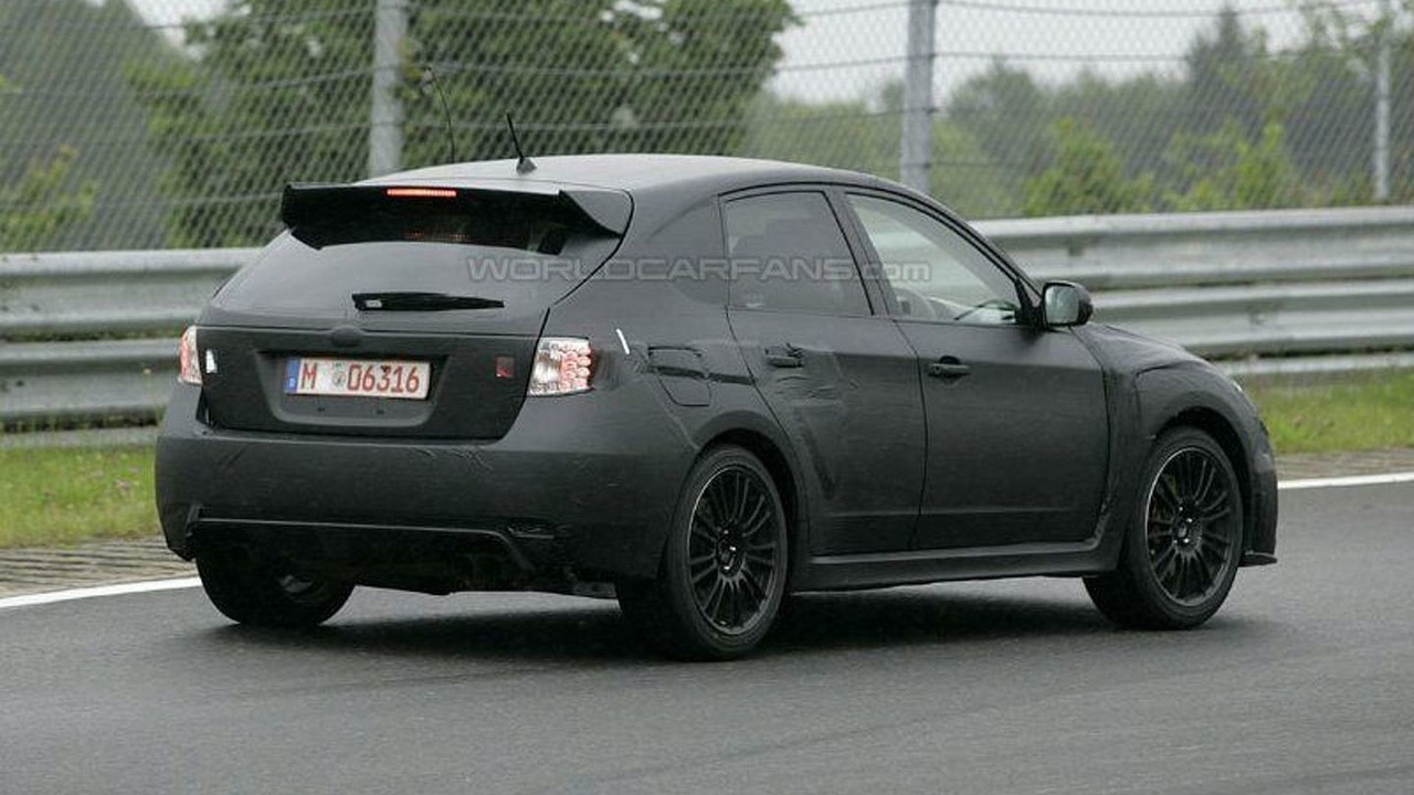 Subaru impreza wrx sti hatchback spy photos vanachro Image collections