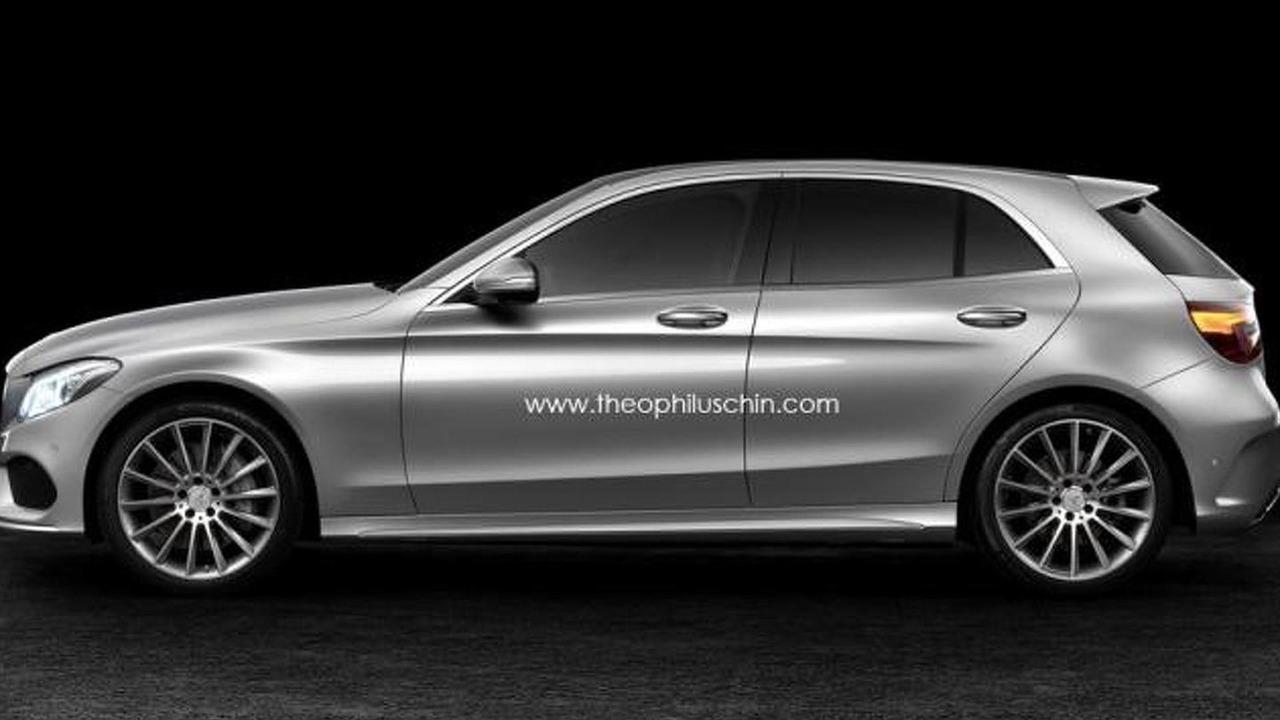 2014 Mercedes-Benz C-Class hatchback render