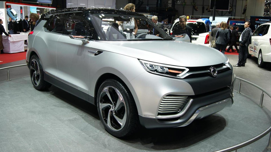 Production SsangYong XLV Concept to debut next year - report