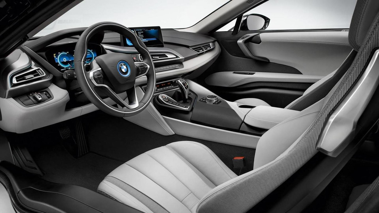 2014 BMW i8 production version leaked photo