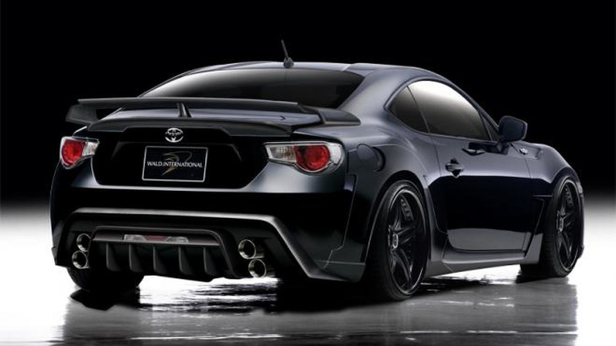 Toyota 86 Sports Line introduced by Wald International
