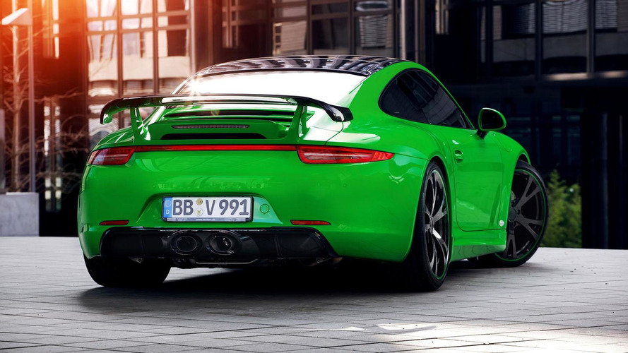 TechArt Porsche 911 Carrera 4S revealed