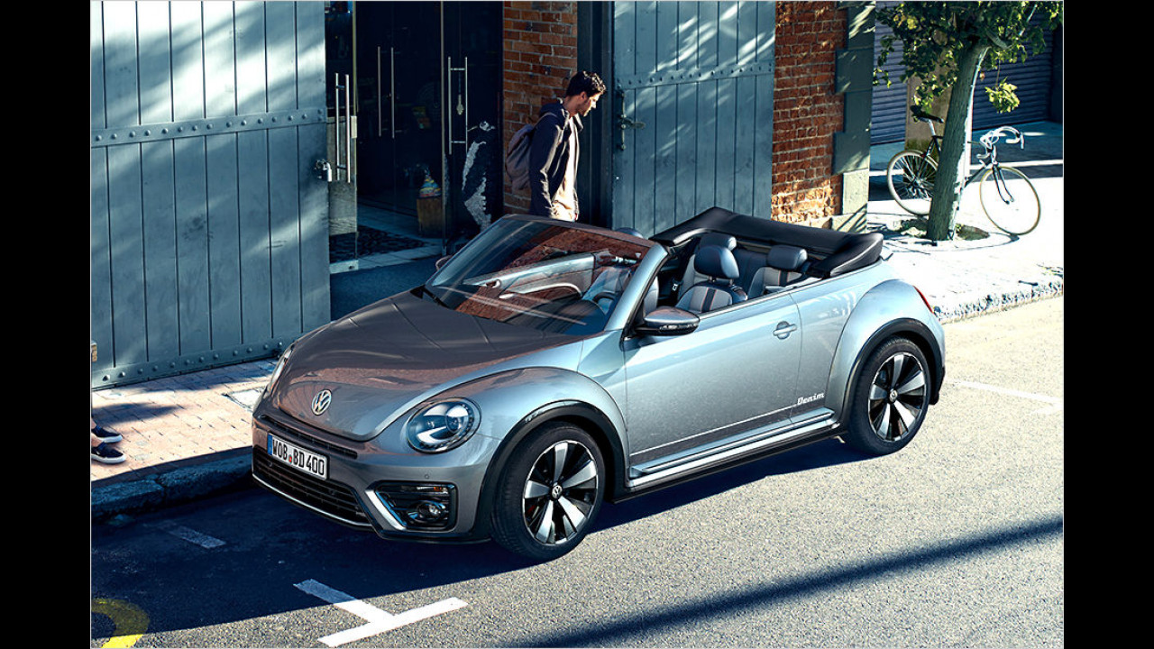 VW Beetle Cabrio Denim