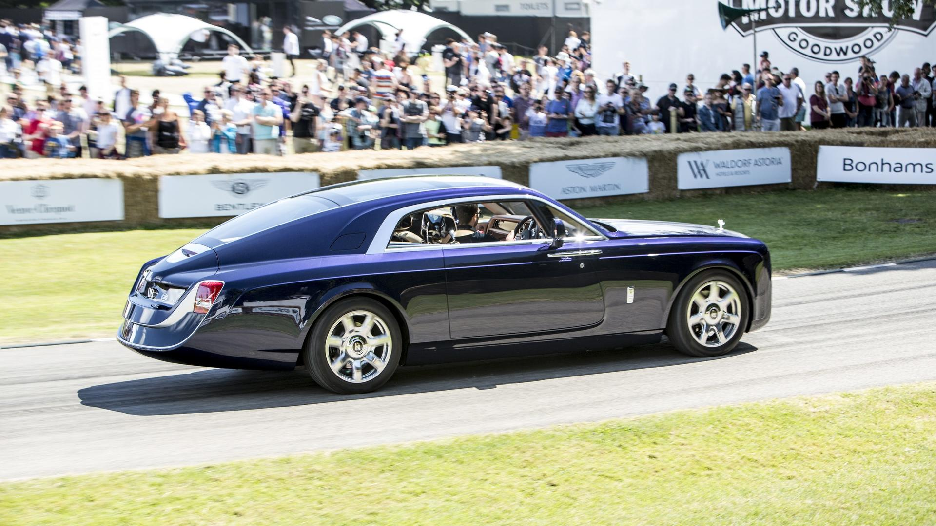 Million Dollar Car >> Rolls-Royce Sweptail Was In No Hurry At Goodwood FOS
