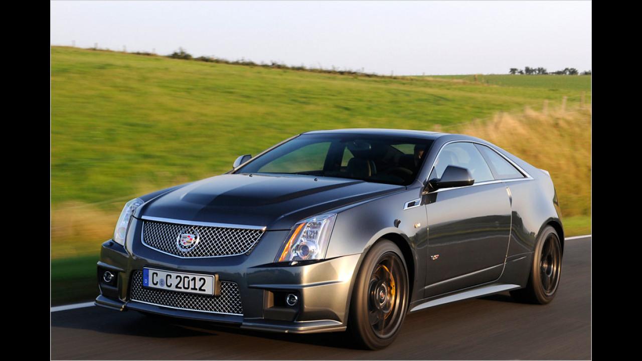 Cadillac CTS-V Coupé : 308 km/h