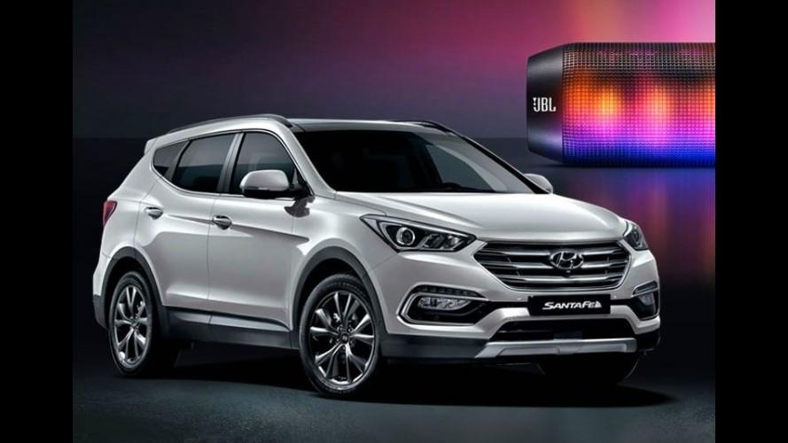 Hyundai Santa Fe 2016: visual retocado e mais tecnologia - veja fotos